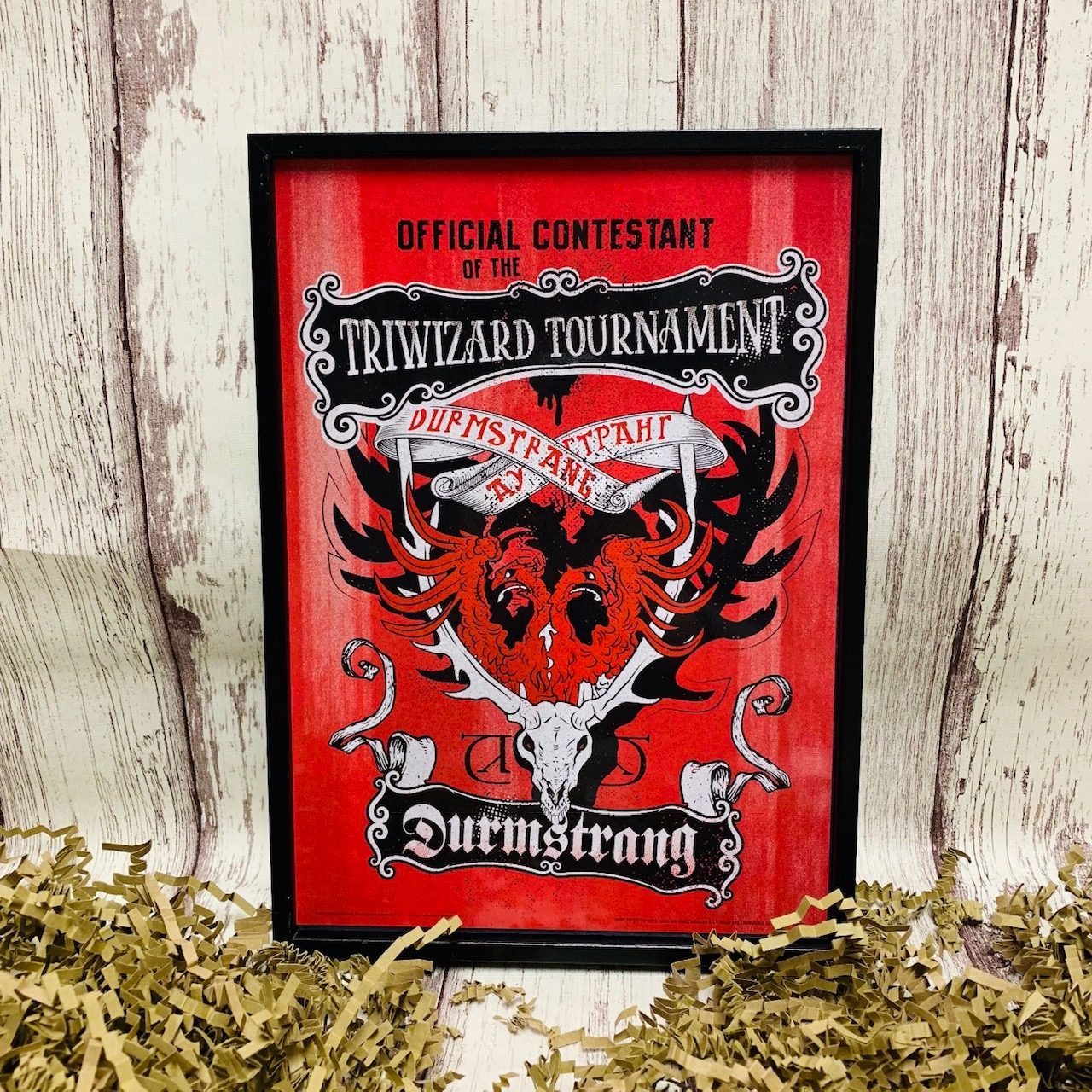 Triwizard Tournament Durmstrang A4 Framed Print Geek Gear Street party durmstrang theme durmstrang and beauxbatons 2014 proud sons of durmstrang. triwizard tournament durmstrang a4 framed print