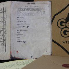 Draught of Living Death Pages - Parchment Paper