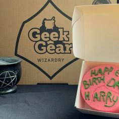 Harry Potter Birthday Ornament Cake