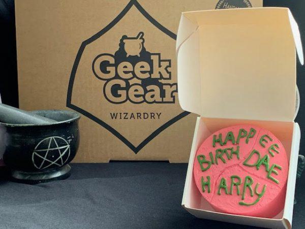 Harry Potter Birthday Ornament Cake