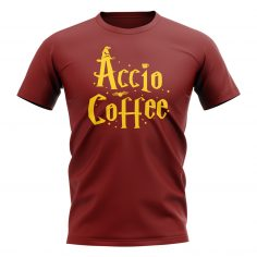 Accio Coffee – T-Shirt (Maroon)