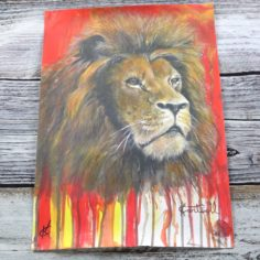 Kevin Cantwell Limited Edition House Pride Print – Lion