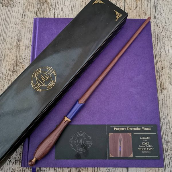 Unique Wands™ Exclusive Purpura Decentius Wand + Box