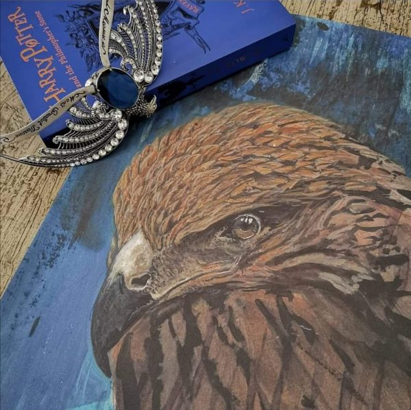 Kevin Cantwell Limited Edition House Pride Print - Ravenclaw