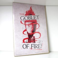 Licensed and Exclusive Goblet Print