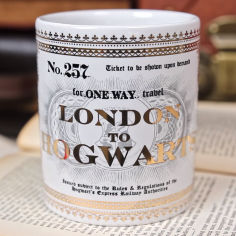 Exclusive Hogwarts Express Foil Mug