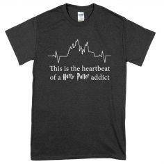 Magic Addict Heartbeat T-Shirt (Black)