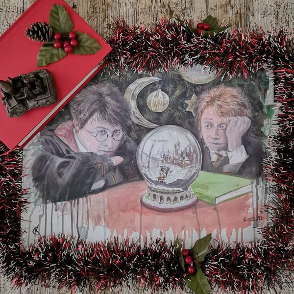 Kevin Cantwell Magical Christmas Print