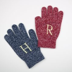 H and R Festive Gloves