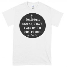 Solemnly Swear Circle T-Shirt (White)