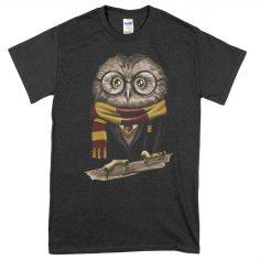 Harry Owl T-Shirt (Black)