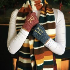 Magical Knitted Scarf