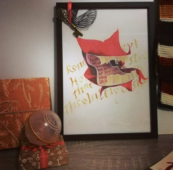 Howler Painting - A4 - Parchment Paper