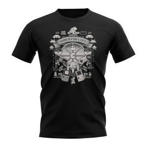 Black Short Sleeved Shirt - Gamer For Life T-Shirt