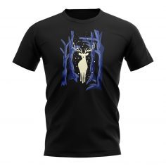 Forest Stag T-Shirt (Black)
