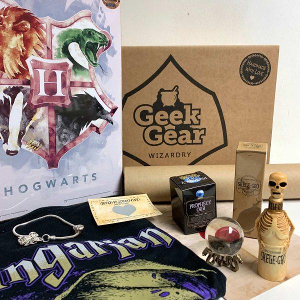 GeekGear Wizardry NOVEMBER 2019 Box