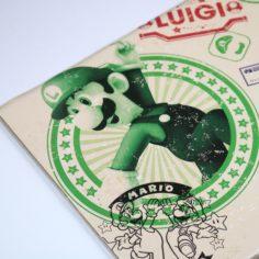 Licensed and Exclusive Luigi Stamp Print