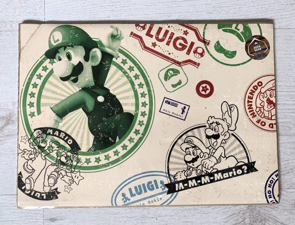 Luigi Stamp Print
