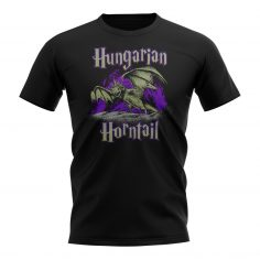 A Short Sleeved T-Shirt Featuring the Hungarian Horntail Dragon from Harry Potter and the Goblet of Fire.