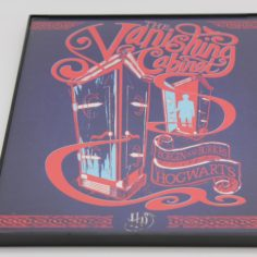 Licensed & Exclusive Vanishing Cabinet Print in Glass and Metal Display Frame