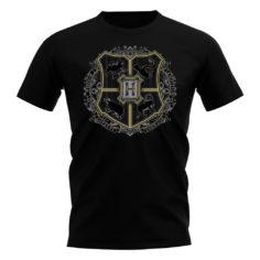 Hogwarts Crest T-Shirt (Black)