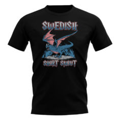 Swedish Dragon T-Shirt (Black)