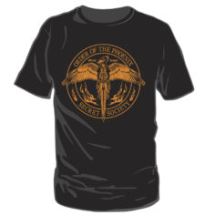 Order of the Phoenix Seal Short Sleeved Black T-Shirt