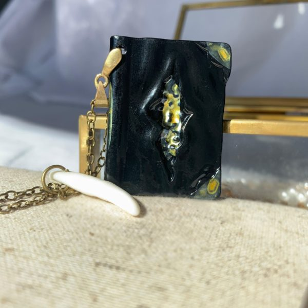 Tom Riddle Diary and Basilisk Fang Necklace