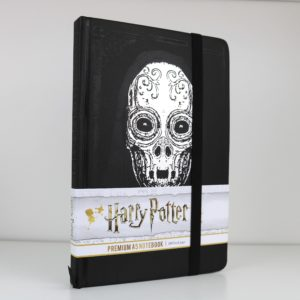 Licensed Premium Death Eater Mask A5 Notebook