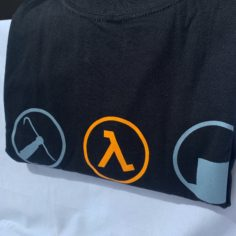 Exclusive Half-Life 2 T-Shirt (Black)