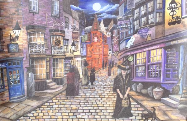 Exclusive Holly Simpson Diagon Alley Print