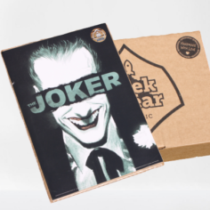 Licensed and Exclusive Joker Batman Anniversary Print