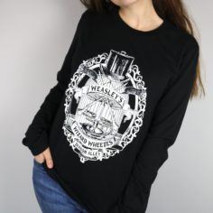 Wizard Joke Shop Long Sleeved T-Shirt (Black)