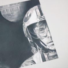 Exclusive Star Wars Luke and Jabba Community Art Print