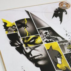 Licensed and Exclusive Batman Anniversary Print