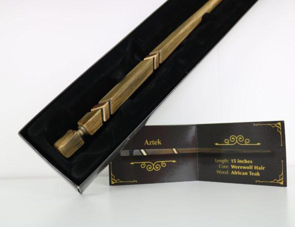 Unique Wands™ Exclusive Aztek Wand + Box