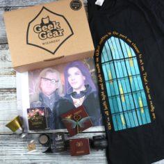 GeekGear Wizardry JUNE 2020 Box