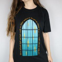 Sirius Black Light and Dark Short Sleeved T-Shirt (Black)