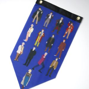Doctor Who Doctors Pennant