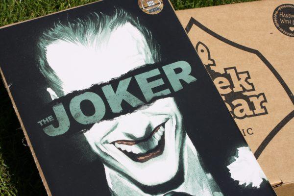 Licensed and Exclusive Joker Batman Anniversary Print