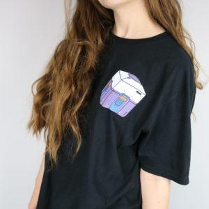 Overwatch Loot Box Short Sleeved T-Shirt (Black)