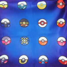 Pokéball Cushion Cover