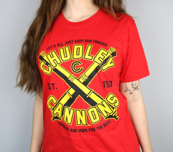 Exclusive Chudley Cannons Short Sleeved T-Shirt (Orange)