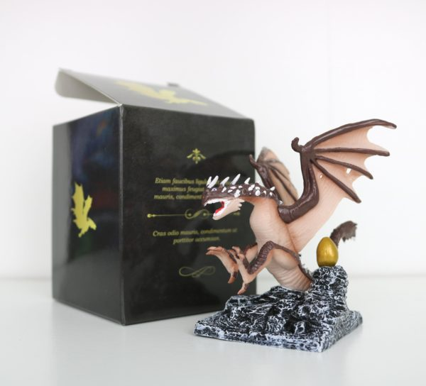 Deluxe Miniature TriWizard Dragon with Golden Egg