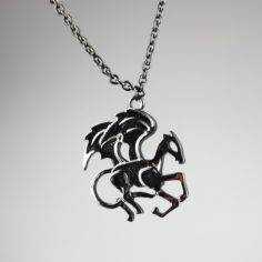 Thestral Necklace