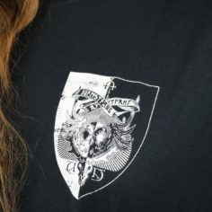 Exclusive Durmstrang Crest Short Sleeved T-Shirt (Black)