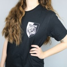 Exclusive Durmstrang Crest Short Sleeved T-Shirt (Black)