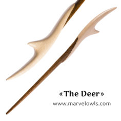 Marvelowls™ Exclusive The Deer Wand + Box