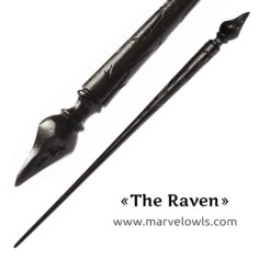 Marvelowls™ Exclusive The Raven Wand + Box