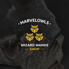 Marvelowls™ Exclusive The Golden Owl Wand + Box